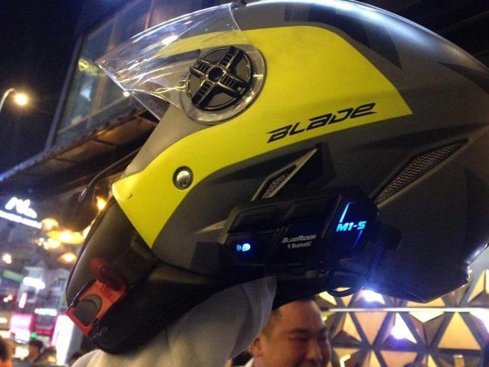 Tai nghe nón bảo hiểm M1S Evo cải tiến từ Vimoto V8